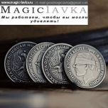 Монета Antique Silver Fnish Coins1902 (3см, серебро)