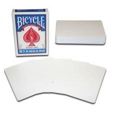 Карты Bicycle Standart чистая рубашка/чистое лицо