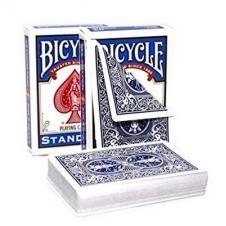 Карты Bicycle Standart двойная рубашка (синяя/синяя)