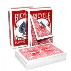 Карты Bicycle Standart двойная рубашка (красная/красная)