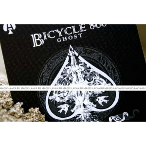 Карты для фокусов Bicycle Black Ghost 2nd Edition