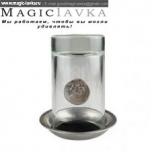 Монета сквозь стакан