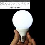 Волшебная лампочка (белая)
