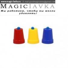 Фокус со стаканчиками и шариками (4см)