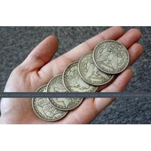 Монета Antique Morgan Half Silver (3.8см, серебро)