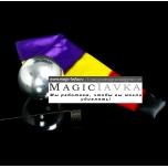 Зомби-шар с черным платком (серебряный) - Zombie Ball