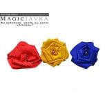 Превращение шарфика в цветок
