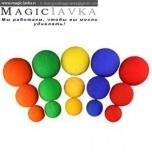 Шарики поролоновые - Sponge ball (4см)