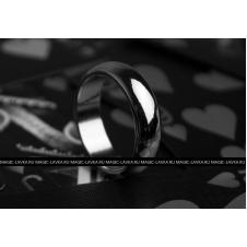 Магнитное кольцо «обручальное» (Серебро)