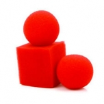 Поролоновые шарики превращаются в кубик - Balls to Square