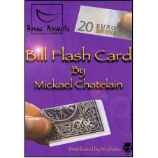 Bill Flash Card by Michael Chatelain - купюра превращается в карту