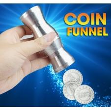Денежная воронка (появление монет в пустой трубке)