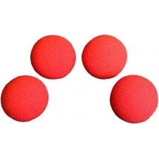 Поролоновые шарики для манипуляций 4шт в коробке (Goshman) 5см (красные)