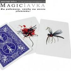 """Карточный фокус """"Стая комаров"""""""