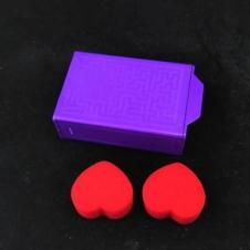 Коробочка с секретом фиолетовая