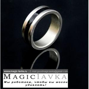 Модерновое магнитное кольцо с эмалью