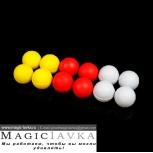 Размножающиеся шарики, шарики для манипуляций (45мм, белые) - Billiard Balls Royal