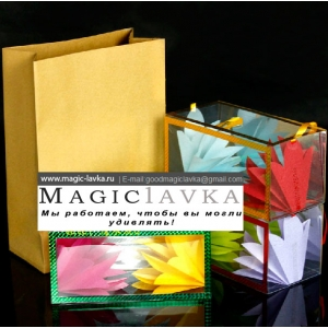 Появляющиеся коробочки с цветами - маленький размер