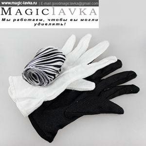 Превращение перчаток в шарф