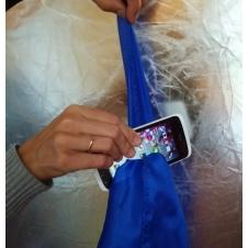 Платок сквозь телефон