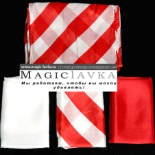 Набор платков (красно-белый)