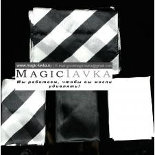 Набор платков (черно-белый)