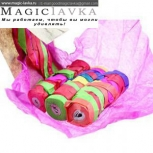 Растяжки для бросков в бумажной упаковке - 30 нитей (белые или разноцветные)