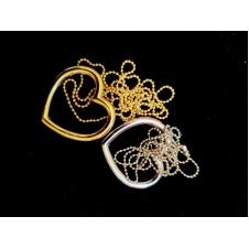 Сердце и цепочка (фокус кольцо и цепочка)