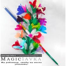 Цветы из трости (серебро)