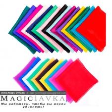 Шелковые платочки 30x30