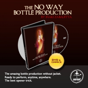 The No Way bottle prodaction by Inaki Zabaletta (Появление бутылки)