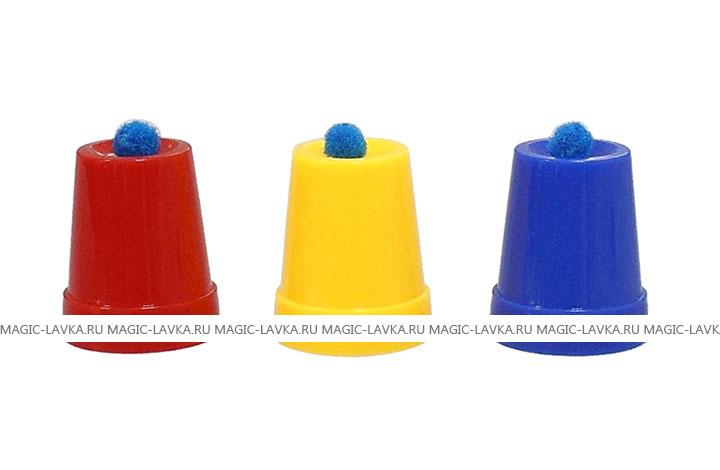 Фокус со стаканчиками и шариками