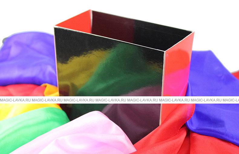 Коробочка для фонтана из платочков